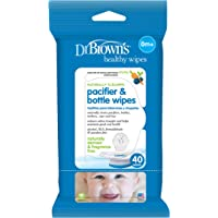 Dr. Brown's Pacifier and Bottle Wipes, 40 Count