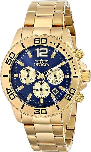 "Amazon.com: Invicta Men's 17402 ""Pro Diver"" Stainless Steel Watch: Invicta:  Watches"