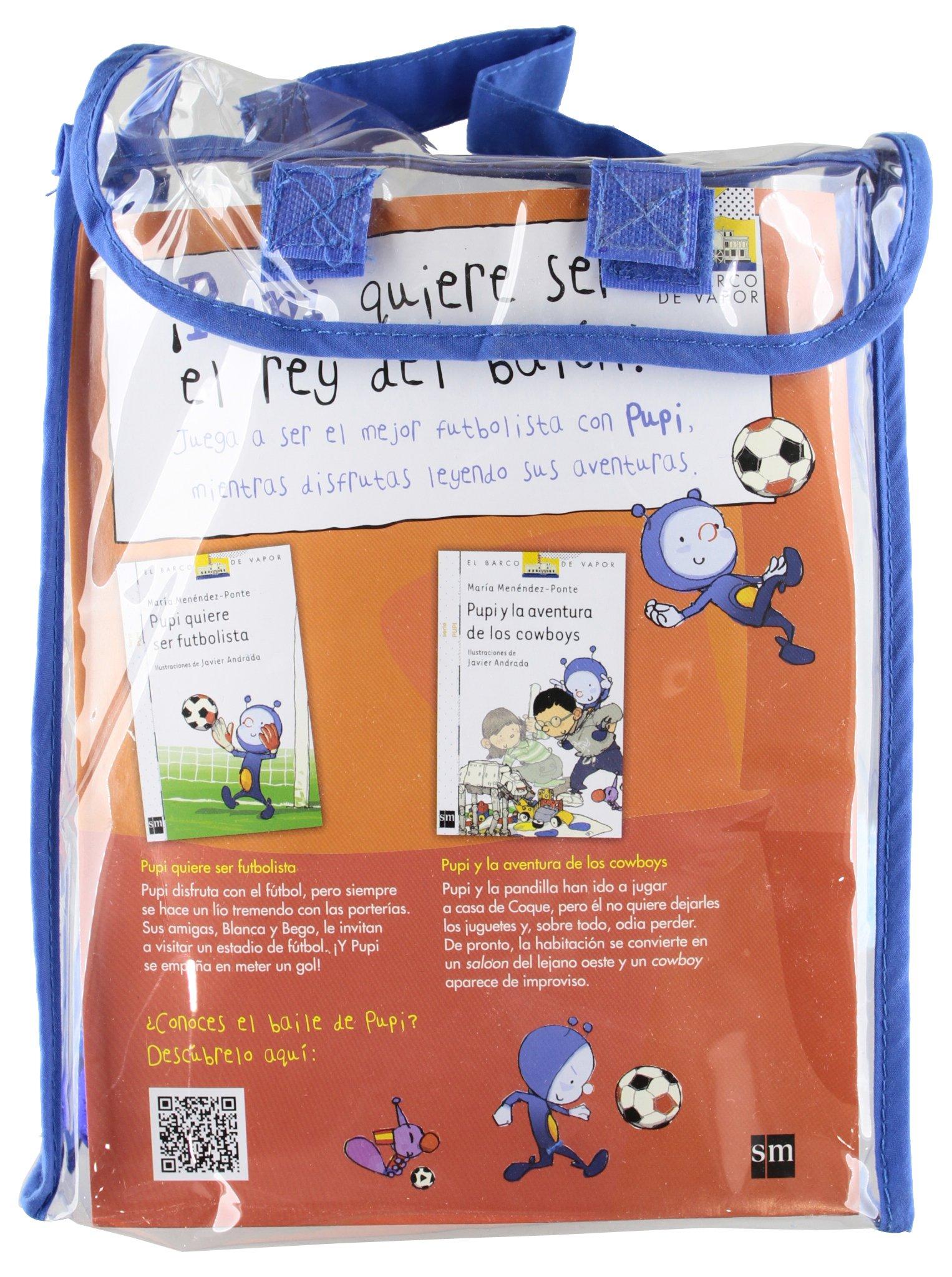 Pack Pupi futbolista (El Barco de Vapor Blanca): Amazon.es ...