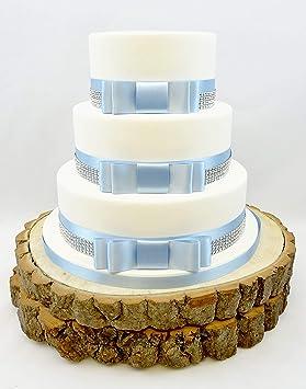 The Cake Emporium Ltd Gâteau De Mariage Avec Nœud De Ruban