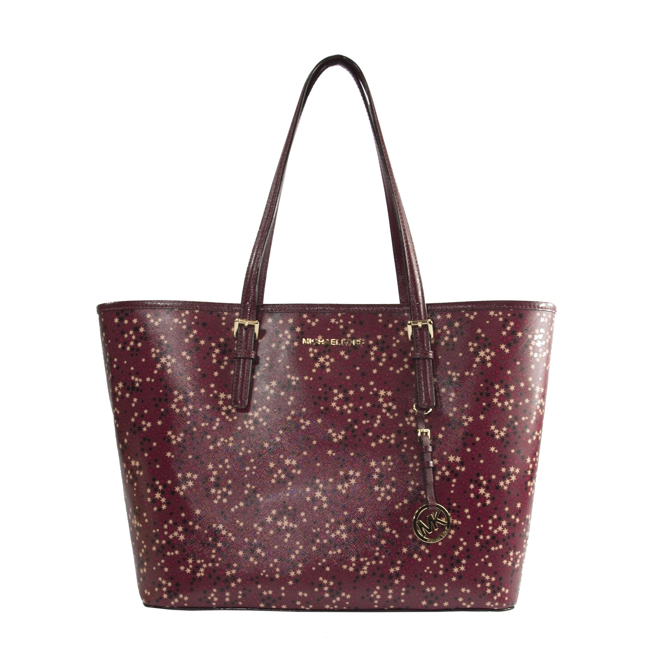 Michael Kors Illustrations Mulberry Stars Limited Edition Large Carryall Tote Bag