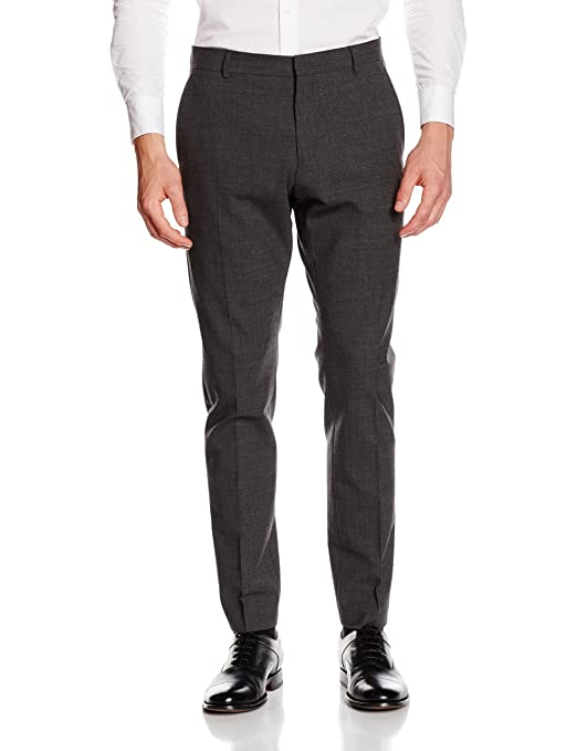 73d0eafb Selected Men's Suit Trousers: Amazon.co.uk: Clothing