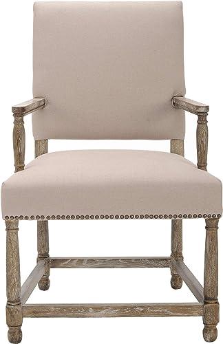 Safavieh Mercer Collection Stratton Linen Side Chair