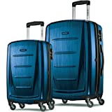 Samsonite Winfield 2 Fashions HS 2 PC Set 20/28, Deep Blue (Model 130934-1277)