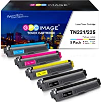 GPC Image Compatible Toner Cartridge Replacement for Brother TN221 TN225 to use with MFC-9130CW HL-3170CDW MFC-9340CDW…