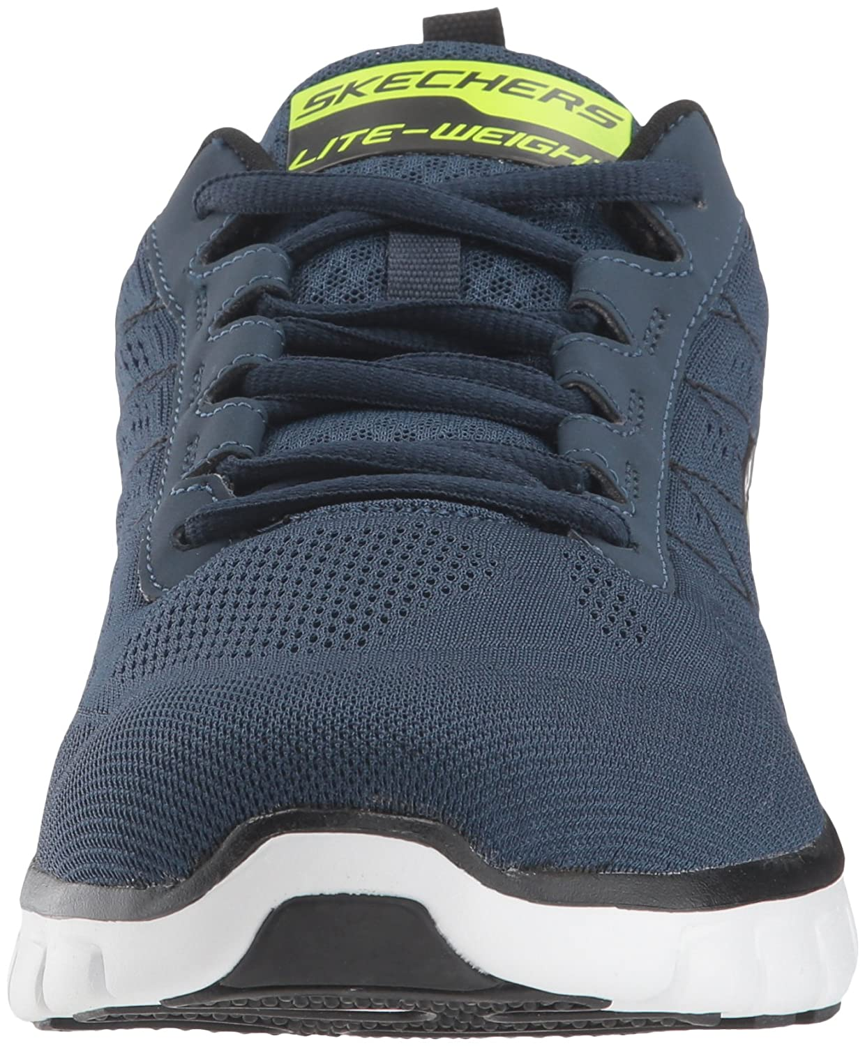 Skechers Sport Men's Synergy Power Switch Sneaker Memory Foam Athletic Training Sneaker Switch B00G9Y2KWW 8.5 D(M) US|Navy/Black dcc5e2