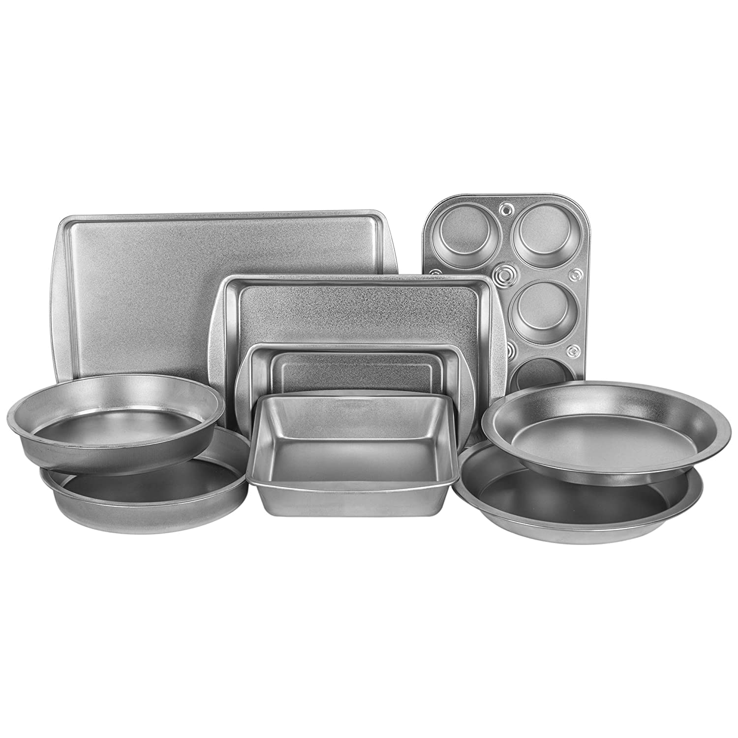 G& S Metal Products EZ Baker Nine Piece Bakeware Set AZ999T