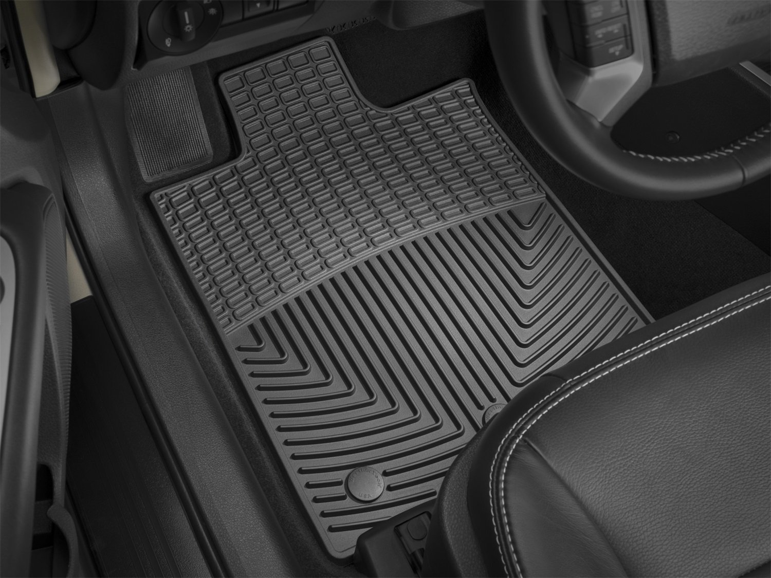 mats car ford weathertech automotive rear amazon fit com dp tan super for mat floorliner custom crew