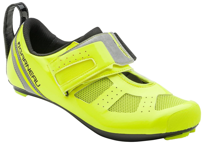 Louis Garneau Tri X-Speed 3 Triathlon Bike Shoes B01HHWO5CM 44 Bright Yellow