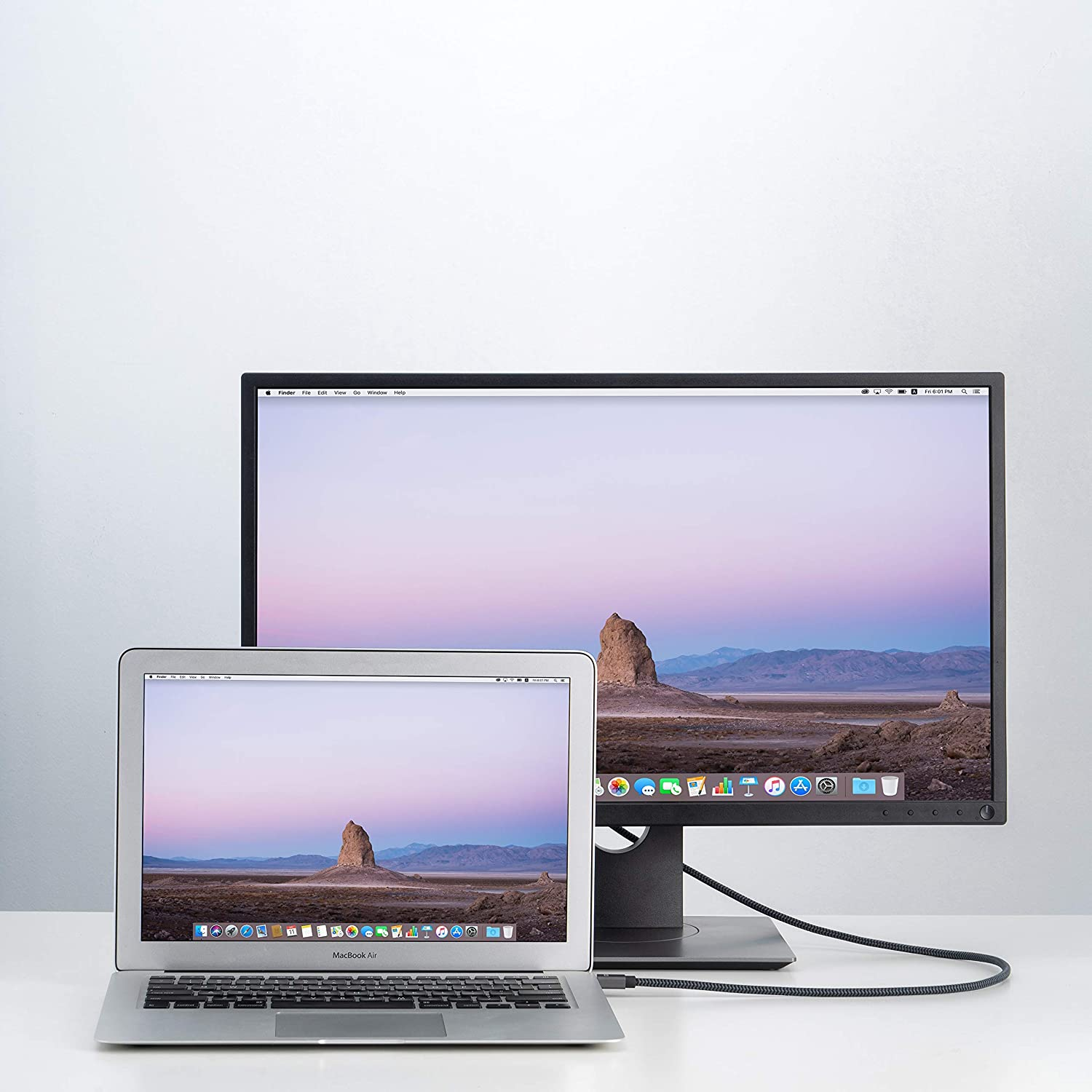 6.6 Feet Mini DisplayPort to DisplayPort Cable Surface Pro//Dock and More Space Grey Thunderbolt to DisplayPort Cable Compatible with MacBook Air//Pro iVANKY 4K@60Hz // 2K@144Hz Mini DP to DP Cable Renewed