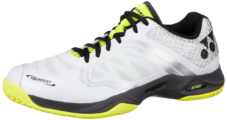 [ヨネックス] テニスシューズ POWER CUSHION AERUSDASH W GC SHTADWG B071SFPZDL 24.0 cm ホワイト/イエロー