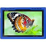 Bobj Rugged Case for ASUS ZenPad Z300, Z300CX, Z300C, Z300CG, Z300CL, Z301ML, Z301MFL, P023, Z300M, Z301M P00C, P01A, P00L - BobjGear Custom Fit - Patented Venting - Sound Amplification (Batfish Blue)