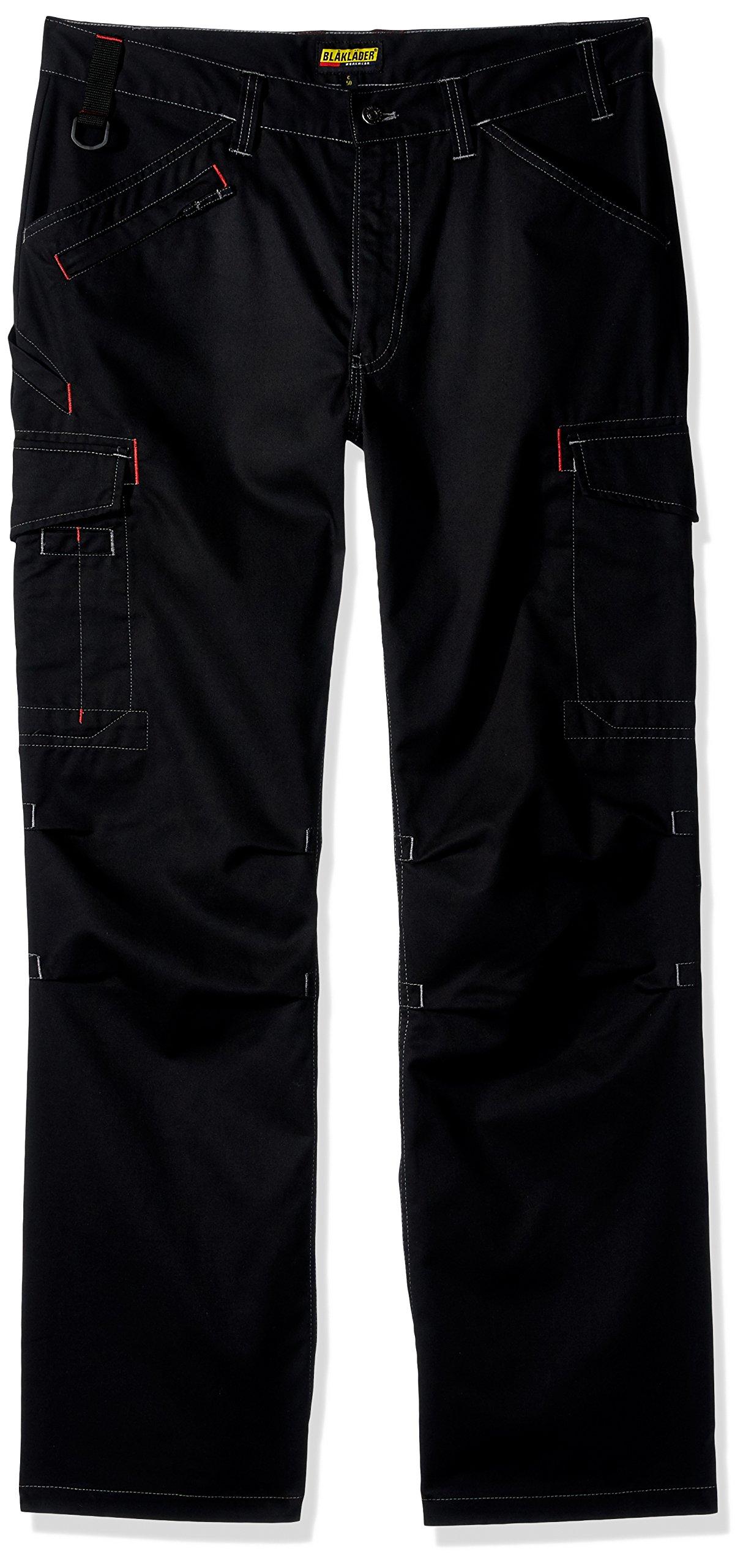 Blaklader 140318009900D100 Cargo Trousers, Size 36/30, Black
