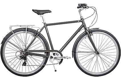 d3c4a13b59c Gama Bikes Metropole Men 28-Inch Hound 8 Speed Shimano Hybrid Urban Commuter  Road Bicycle