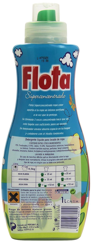 Flota - detergente liquido 3 veces concentrado - Protección ...