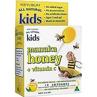 Key Sun Kids Manuka Honey + Vitamin C Lozenges, 12 Count