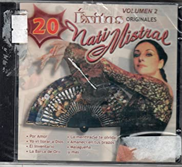 Nati Mistral 20 Exitos Originales Vol. 2 ""