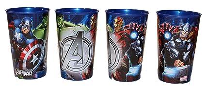 Vaso de Marvel de Los Vengadores vasos de 4 pcs