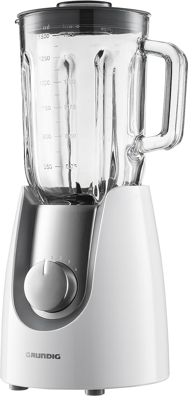 Grundig SM 7280 W - Batidora de vaso, 1,5 l, 4 velocidades, 600 W ...