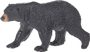 Ganz Prowling Black Bear Rippled Fur 4.5 x 2.5 Resin Stone Tabletop Figurine