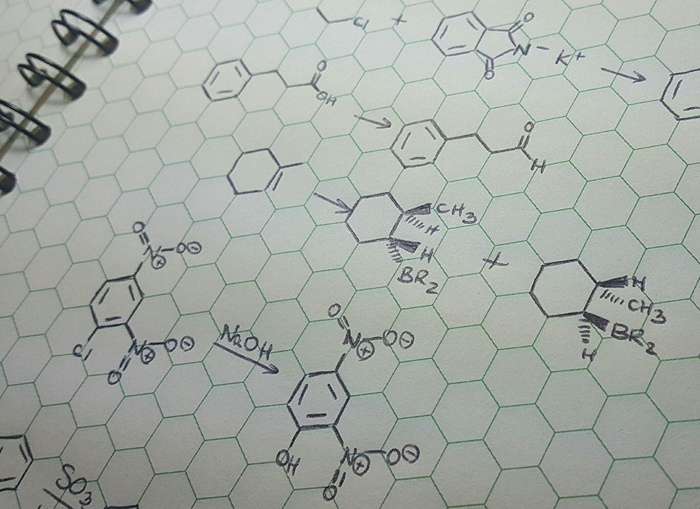 Cuaderno Orgonote Classic Para Quimica Organica/90 Hojas Xs