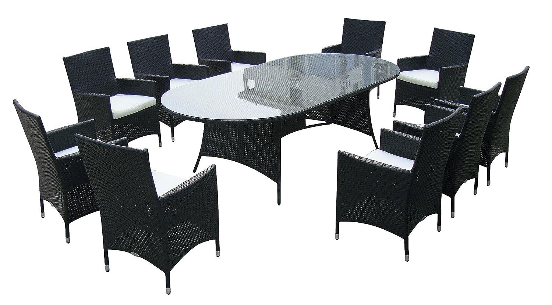 Baidani Designer Garnitur Convention, 21-teilig, schwarz