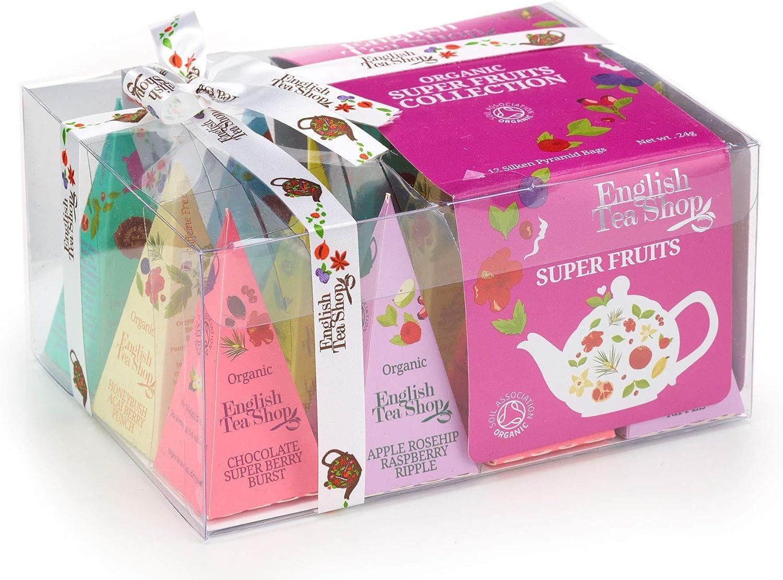 Organic Super Fruits Collection - 12 Silken Pyramid Bags
