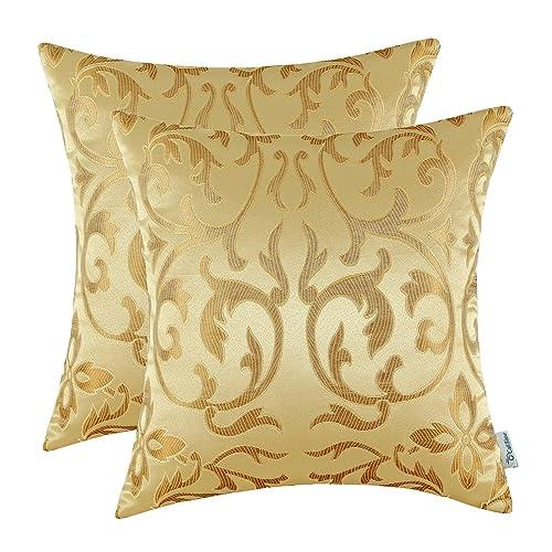 Jacquard Pillow Cover Amazon Com