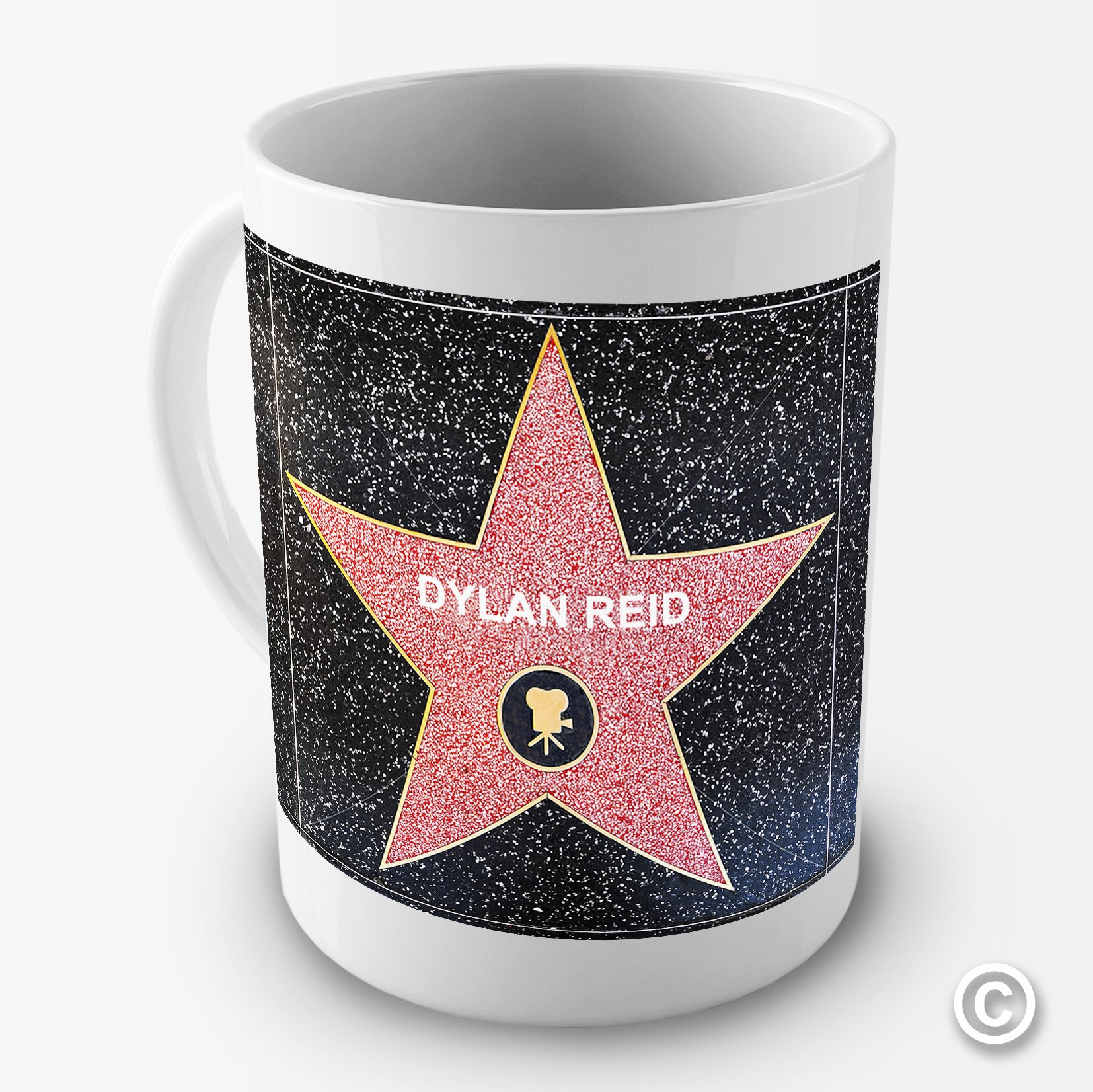 Personalised Hollywood Star Movie Funny Novelty Mug Tea Coffee Gift Cup Office
