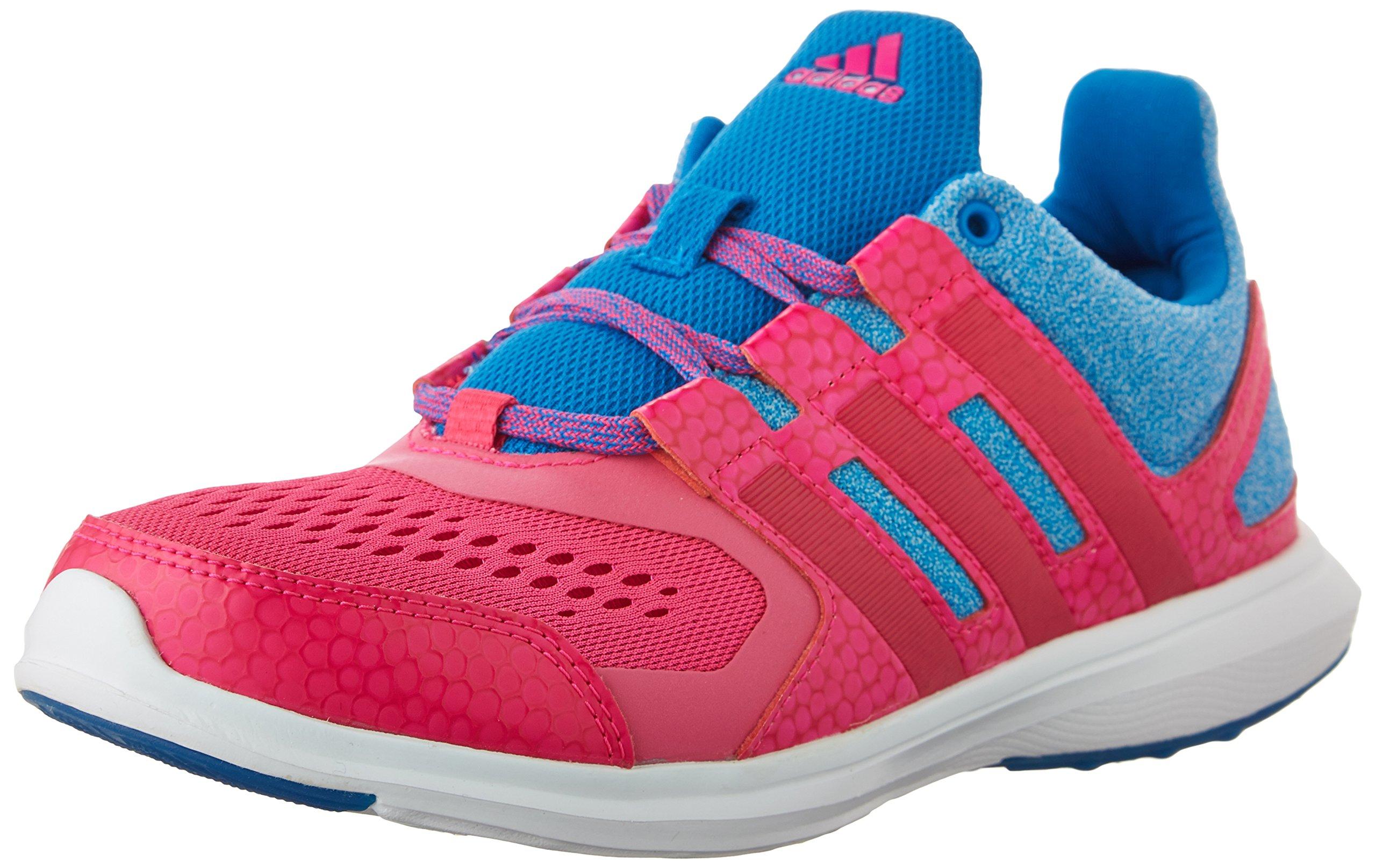 1d3e4b2800 adidas Performance Hyperfast 2.0 K Running Shoe (Little Kid/Big Kid),Shock  Blue/Shock Pink/Bold Pink,7 M US Big Kid