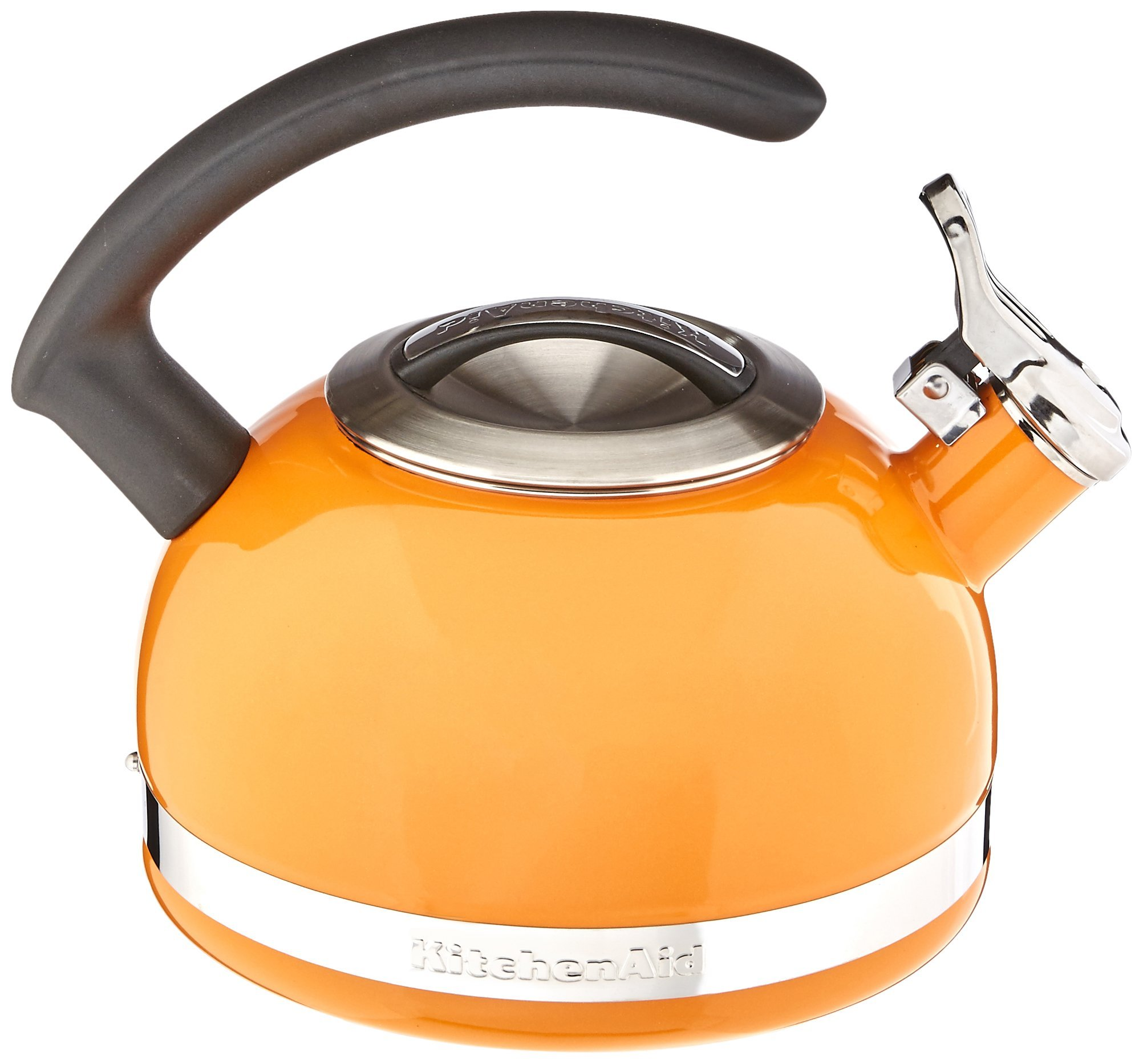 KitchenAid KTEN20CBDO 2.0-Quart Kettle with C Handle and Trim Band - Mandarin Orange