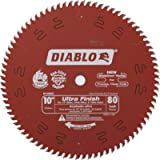 Freud D1080X Diablo 10-Inch 80 Tooth ATB Finish Saw Blade with 5/8-Inch Arbor and PermaShield Coating