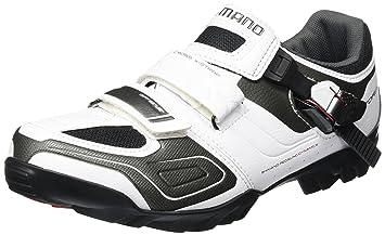 Shimano SH-M089W - Zapatillas MTB para hombre, Blanco, 50 EU: Amazon.es: Deportes y aire libre