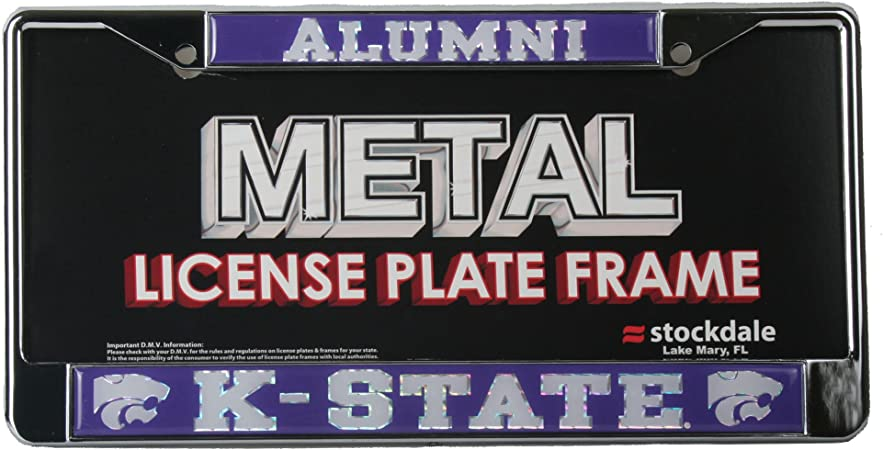 University of S02347 LIC PLT Frame S//L Metallic Wincraft Michigan
