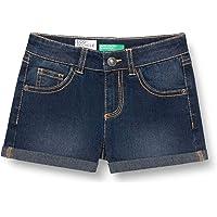 United Colors of Benetton Short Pantalones Cortos para Niñas