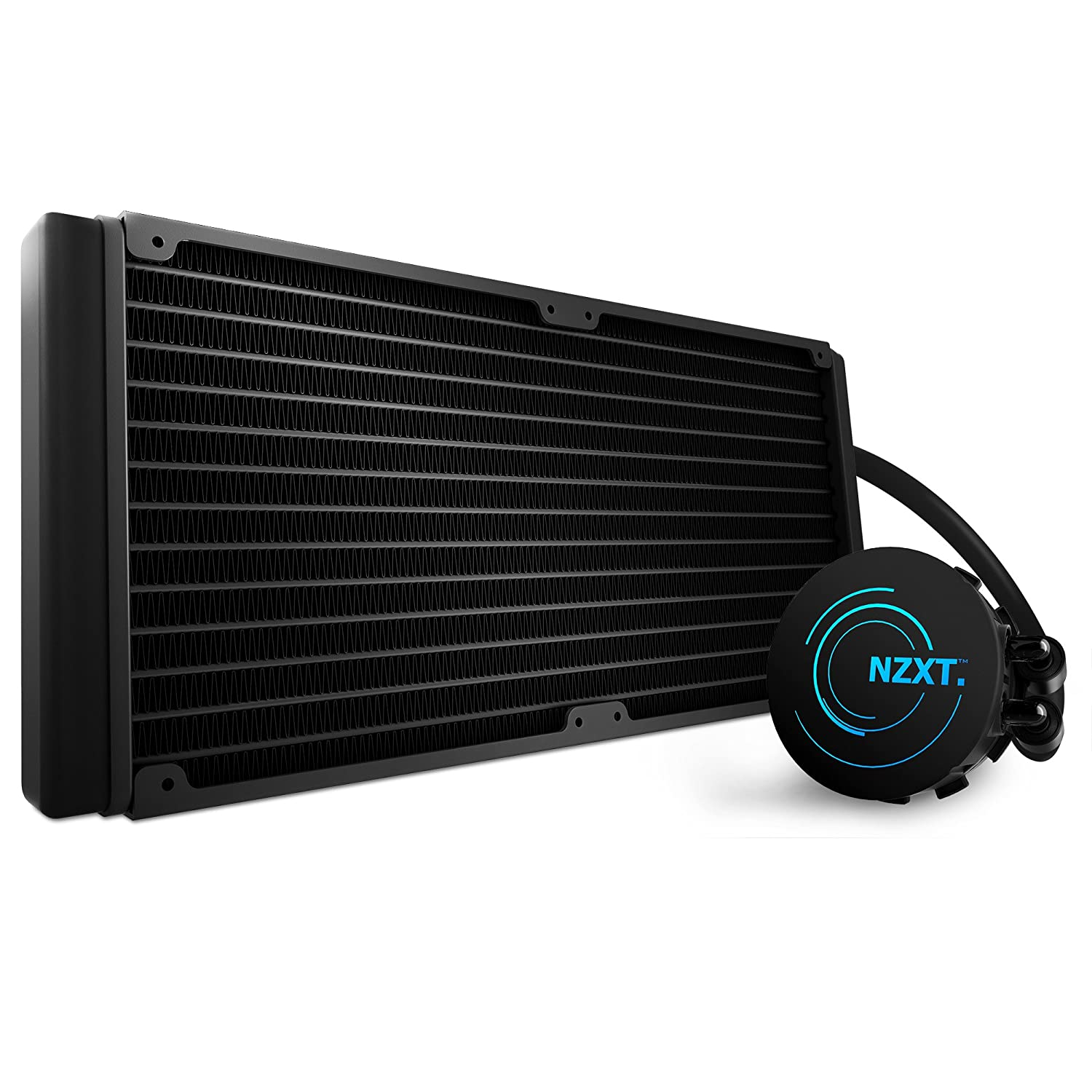 Amazon.com: NZXT Kraken X61 280mm All-in-One CPU Liquid Cooling System  (RL-KRX61-01): Computers & Accessories