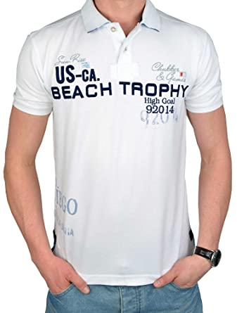 TOM TAILOR POLO TEAM - Polo - para hombre blanco XXX-Large: Amazon ...