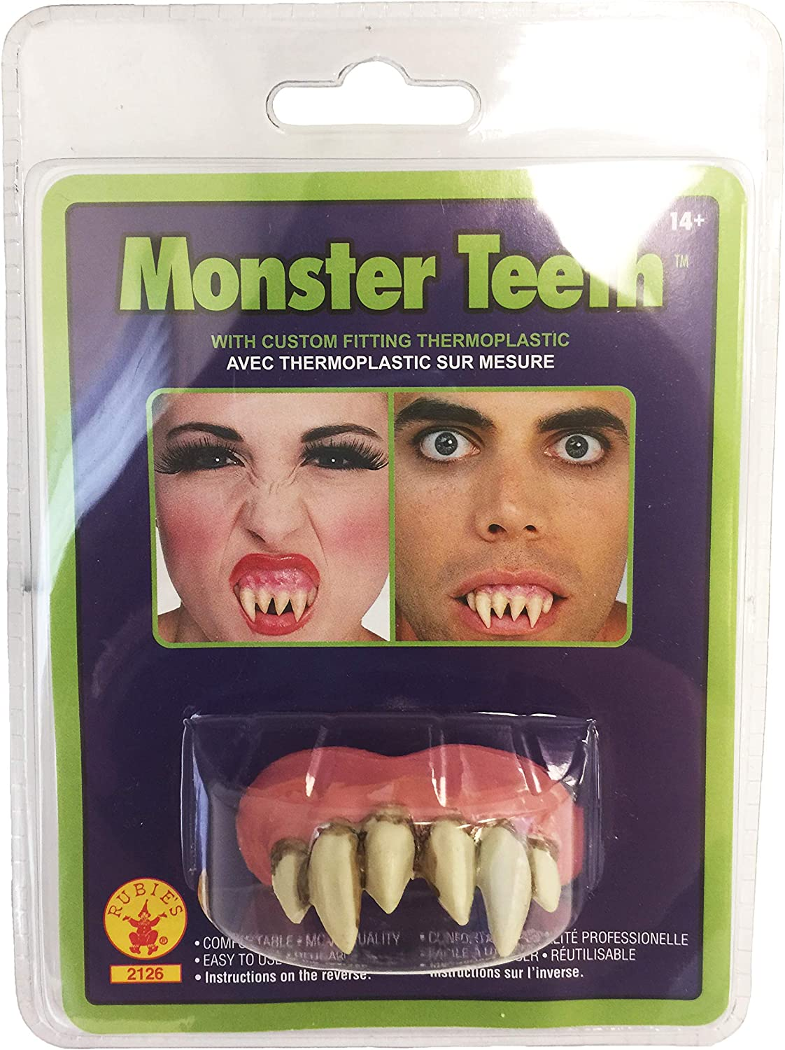 Rubie/'s Costume Co Bubba Teeth /& Putty Costume