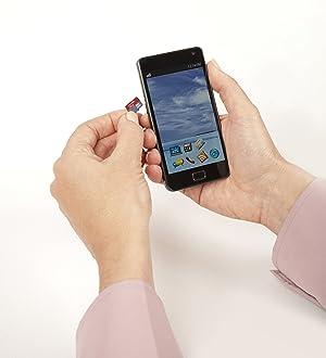 SanDisk 16GB Ultra microSDXC UHS-I Memory Card with Adapter - 98MB/s, C10, U1, Full HD, A1, Micro SD Card - SDSQUAR-016G-GN6MA (Tamaño: 16GB)