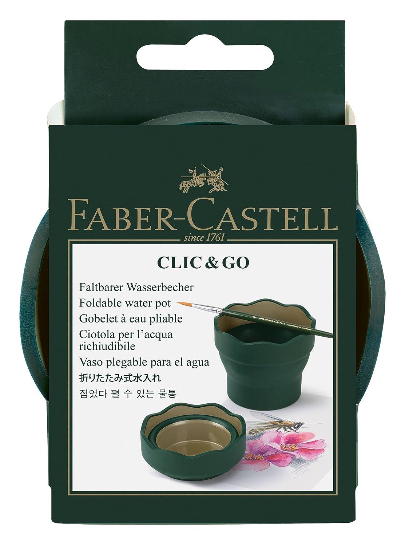 Faber Castell Vaso para el agua Clic  Go plegable fácil de