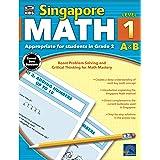 Singapore Math Grade 2 Workbook—2nd Grade Addition, Subtraction, Number Bonds, Multiplication, Division, Time, Money, Shapes