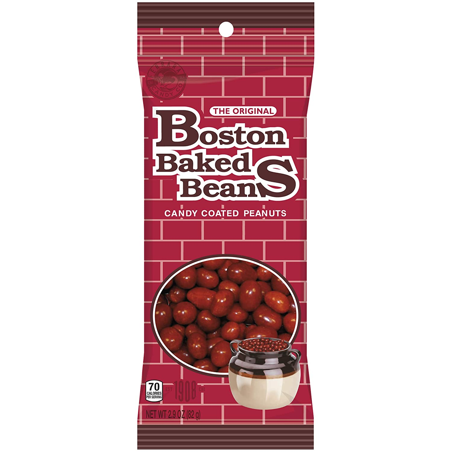 Boston Baked Beans Candy Coated Peanuts2.9 OuncePack of 8