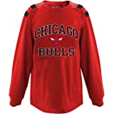 Profile Big & Tall Unisex-Child NBA Team Youth Long Sleeve Taped Shoulder tee YDUOTEEAM