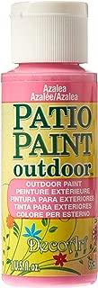 product image for DecoArt Patio Paint 2-Ounce Azalea Acrylic Paint