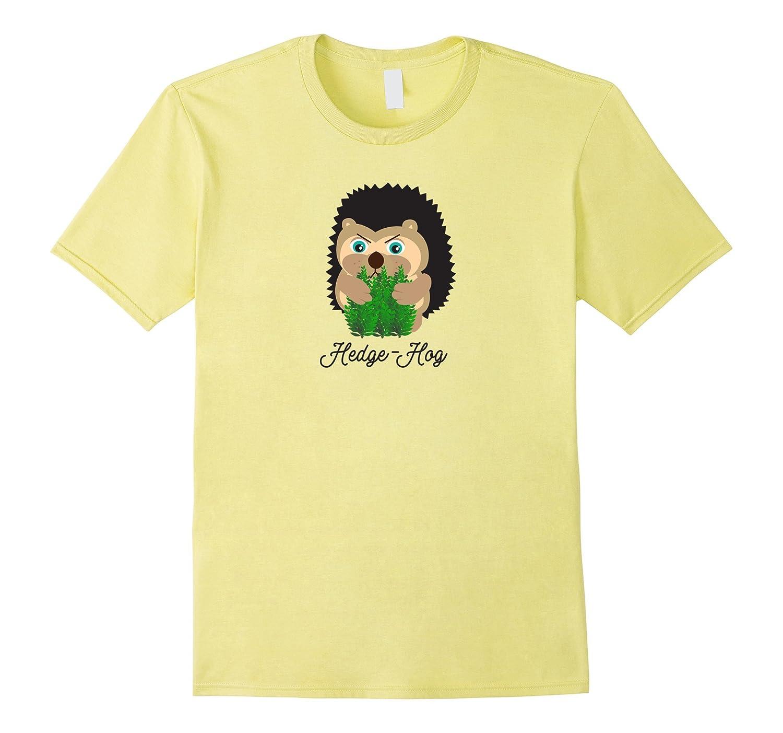 Hedge-Hog – Funny Gardening Tee Shirt