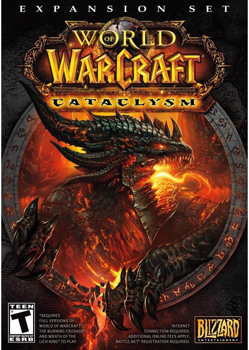 Amazon com: World of Warcraft: Cataclysm Expansion Set - (Obsolete