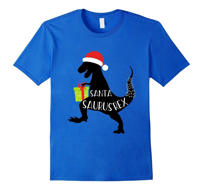 Christmas SantaSaurus Rex Toddler Shirt for Dinosaur Lovers-ANZ