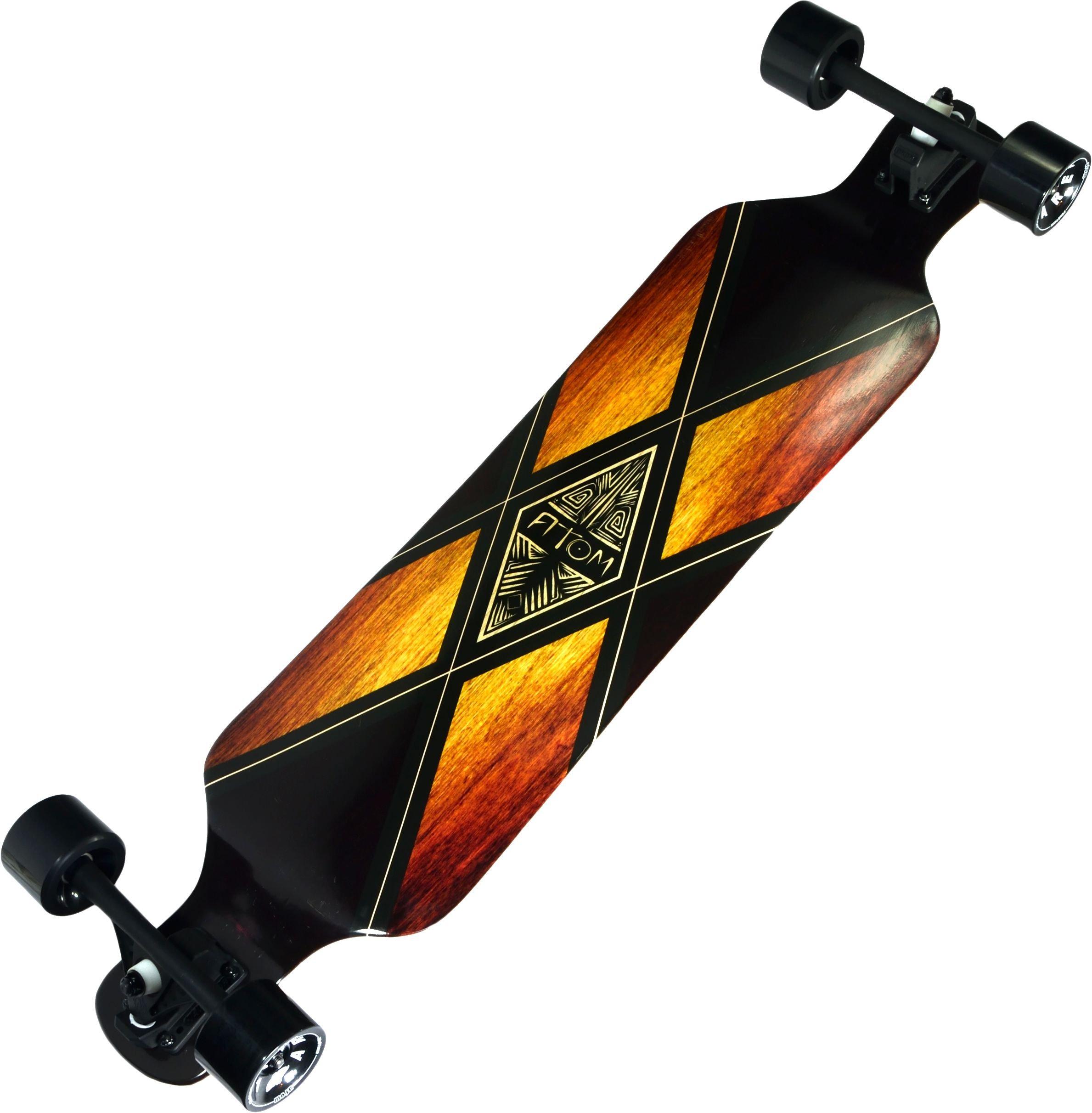 Atom Longboards Atom Drop Deck Longboard - 39'' , Woody X