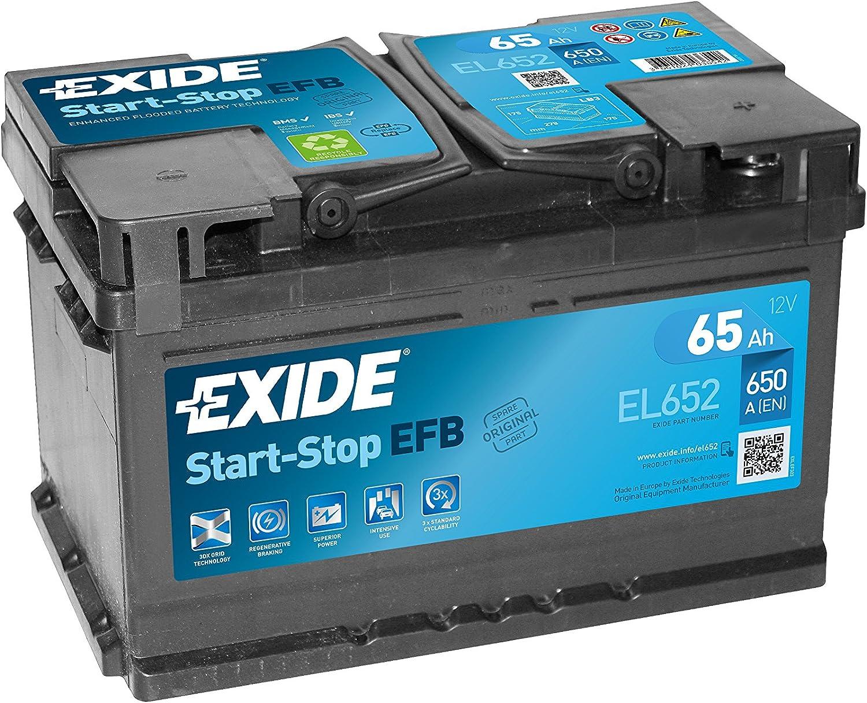 Exide EL652 Start Stop EFB 12V 65AH 650A