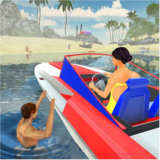 Beach Lifeguard Rescue Team 3D